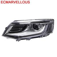 Exterior Accessory Daytime Running Luces Para Auto Assessoires Drl Led Headlights Car Lights Assembly 15 16 17 FOR Skoda Octavia