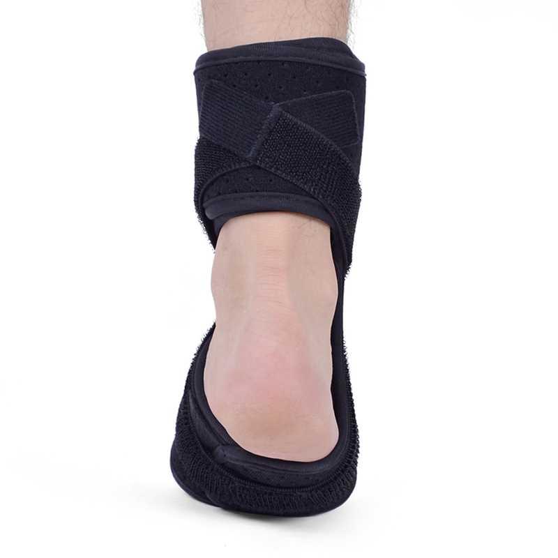 メモリーフォーム足のサポートでボール調整可能な圧縮保護ガードラップフィットネススポーツの捻挫足首保護