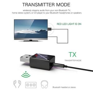 Image 5 - Mini Bluetooth 5.0 Audio Receiver Transmitter 3.5Mm Aux Wireless Adapter For Car Pc Tv Speaker Headphone Usb Power