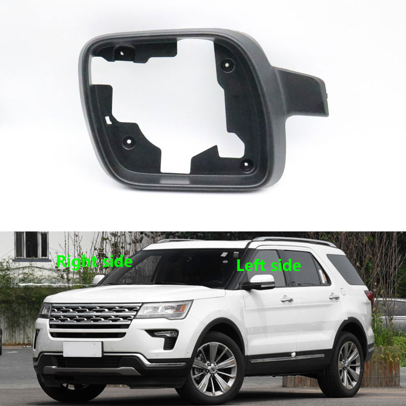 For Ford Explorer 2011 2012 2013 2014 2015 2016 2017 2018 Door Side Mirror Frame Exterior Rear View Housing Shell