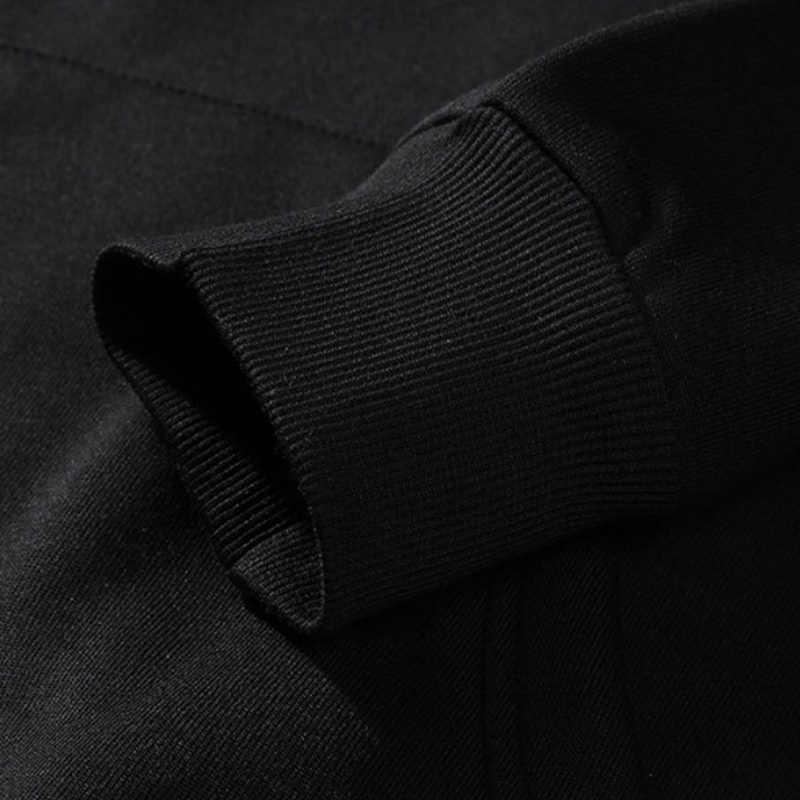 남성 후드 티 핫 솔리드 코트 후드 겨울 아웃웨어 자켓 따뜻한 두꺼운 스웨터 스웨터 점퍼
