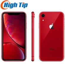 Apple iPhone XR xr разблокирована ОЗУ 3GB ПЗУ 64GB/128GB /256G мобильный телефон 4 аппарат не привязан к оператору сотовой связи 6,1