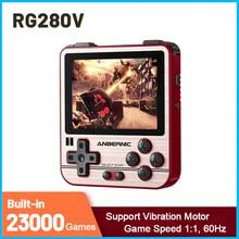 Nowy RG280V Retro konsola do gier 2.8