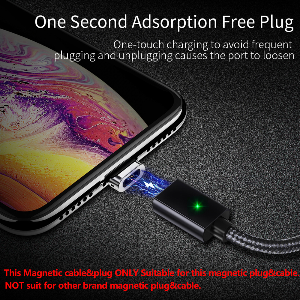 Essager магнитная зарядка usb кабель быстрая зарядка для айфона самсунг переходник кабель micro usb type c провод для шнур зарядки