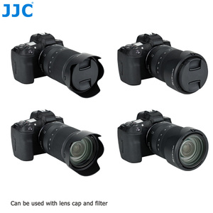Image 3 - JJC Camera Lens Hood Reversible Flower Shade For Canon RF 24 240mm f/4 6.3 IS USM Lens Replaces CANON EW 78F 72mm Lens Hood