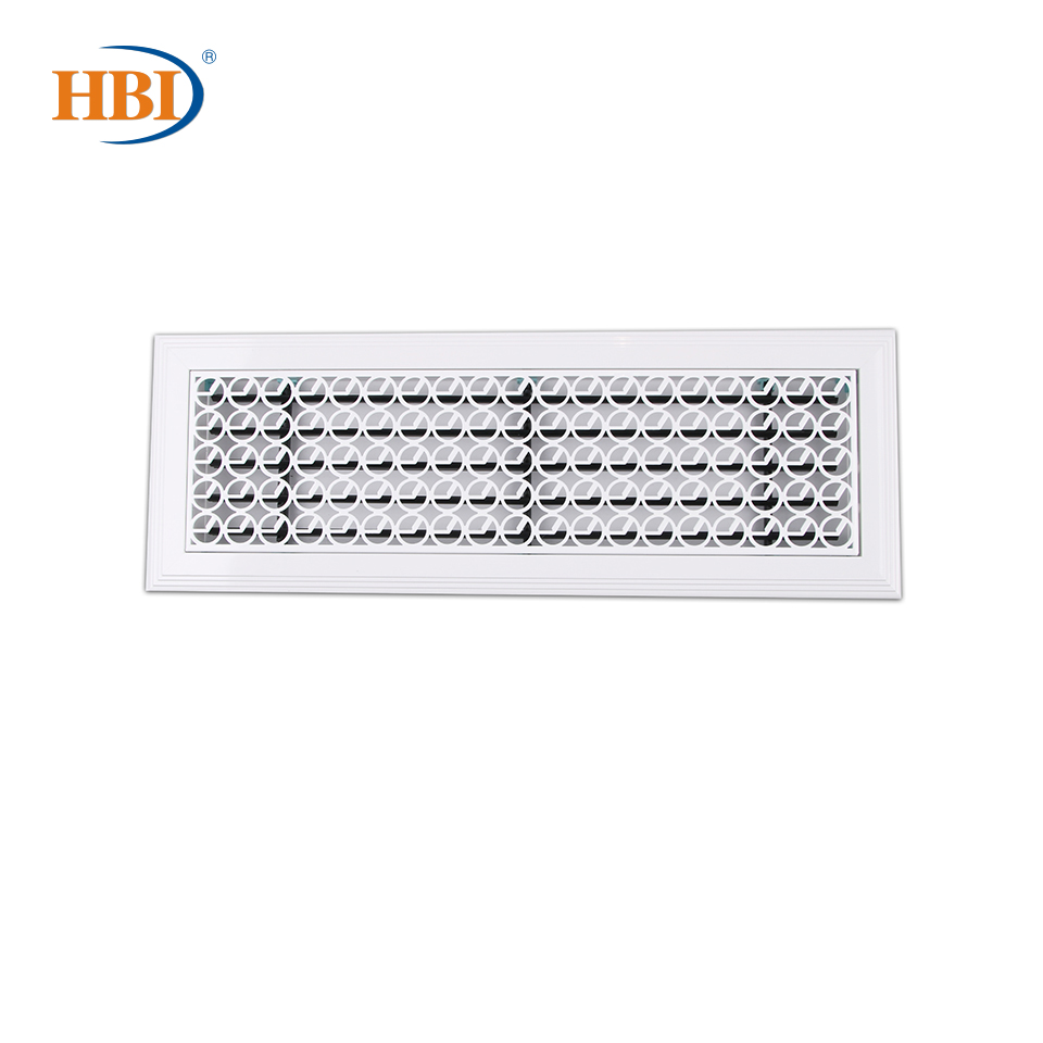 500mm X 150mm Pattern-West Moon Rectangle Plastic Frame Steel Decorative Air Grille Vent Retro Style Outlet Retro Style White