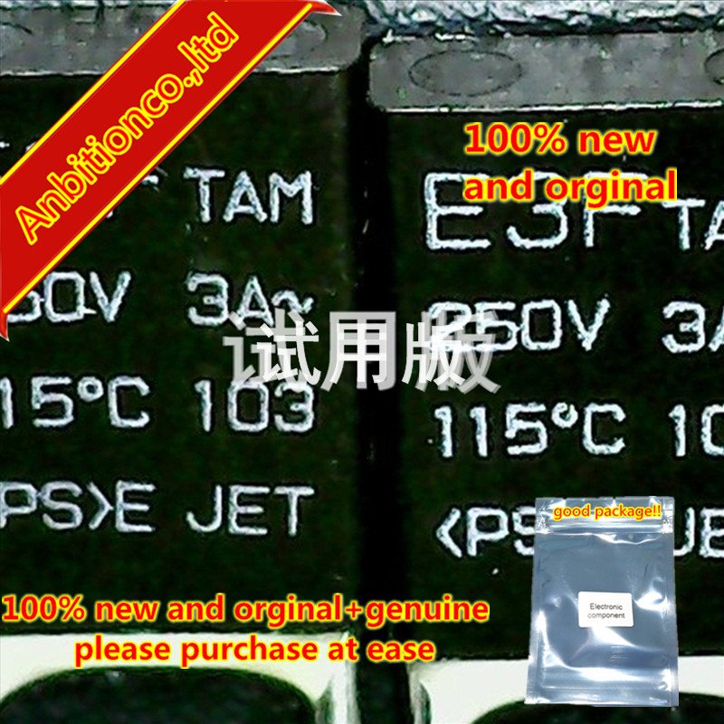 10pcs 100% New And Orginal Thermal Fuse E3F 3A 250V 115 Degrees 2 Feet In-kind Shooting Spot Direct Shot  In Stock