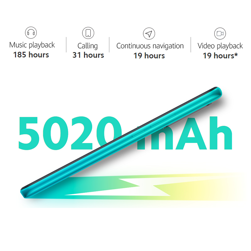 Xiaomi Redmi 9 NFC Global Version Mobile Phones Helio G80 3GB/32GB 4GB/64GB 6.53¡± FHD+ Screen 13MP Quad Cams Smartphone 5020mAh