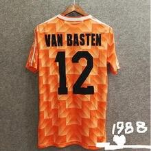 Classic retro 1988 VAN BASTEN 12 GULLIT 10 T-shirt