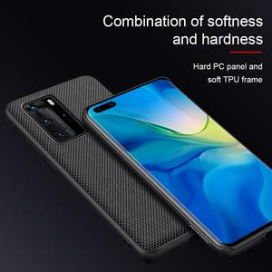 Image 5 - Case for Huawei P40 P40 Pro Case NILLKIN Textured Hard PC Soft TPU Luxury Non Slip Full Cover Phone Cases for Huawei P40 Pro Bag