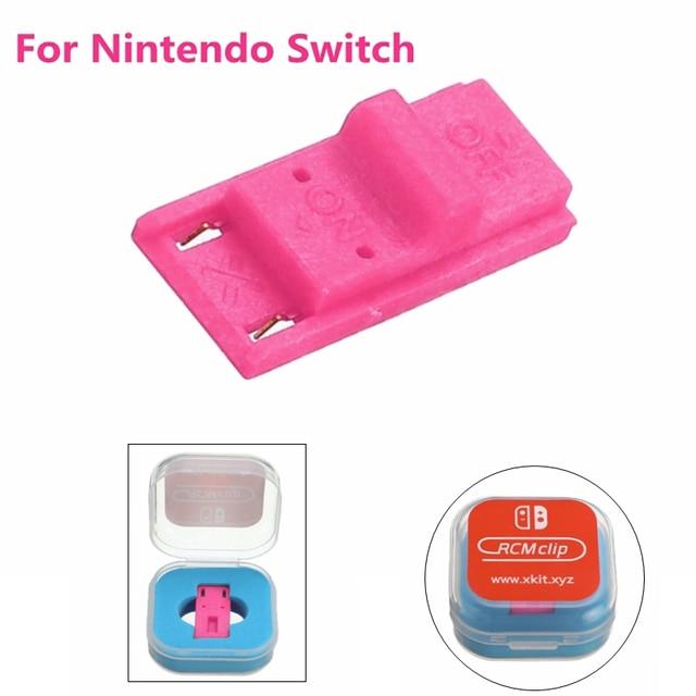 Pour Nintendo Switch RCM / NS SX OS traitement outil court Circuit modifier récupération gabarit Mode Joycon Mod pirater porte clés