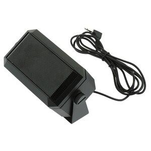 Image 2 - CB Radio External Speaker HAM Radio Audio Communication Speaker 3.5mm Interface Plug Mini Loudspeaker for Kenwood Mobile Radio