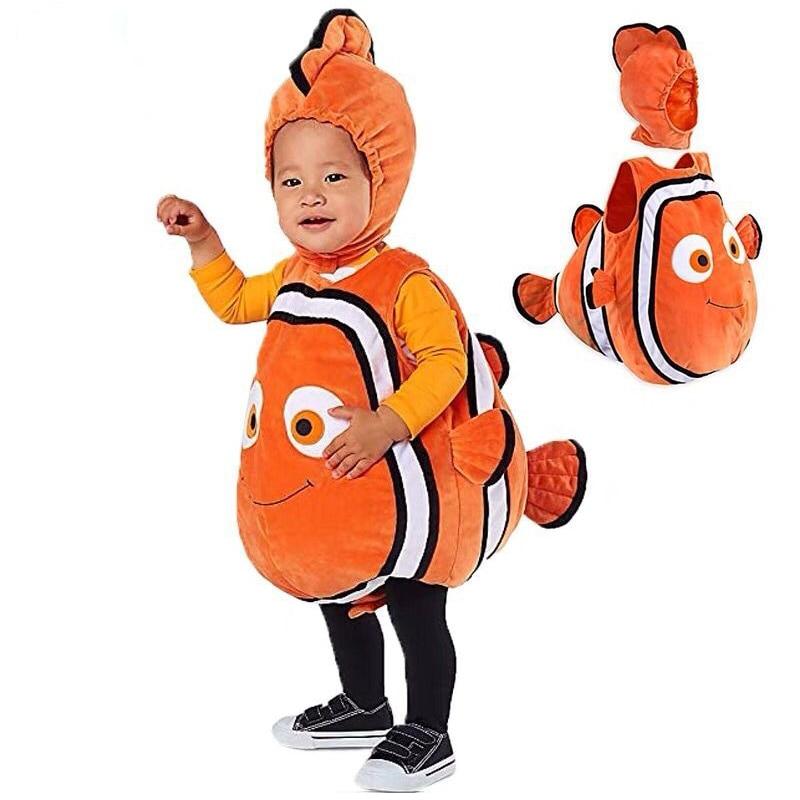 Image 3 - Animal Cosplay Baby Kids Fish Clownfish Costume  Pixar Animated Film Finding Nemo Christmas Purim Carnaval