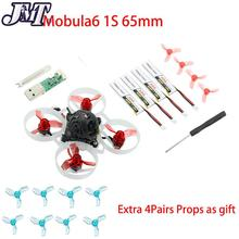 JMT Mobula 7 75mm Mobula6 65mm bhhoop Crazybee F4 Pro OSD 2S FPV wyścig Drone Quadcopter Upgrade BB2 ESC 700TVL Happymodel Drone