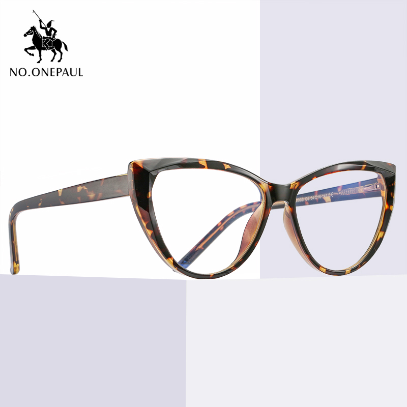 NO.ONEPAUL Frame Men & Women Computer Games Polygon Goggles Eyeglasses Optical Frame Metal Anti Blue Light Blocking Glasses