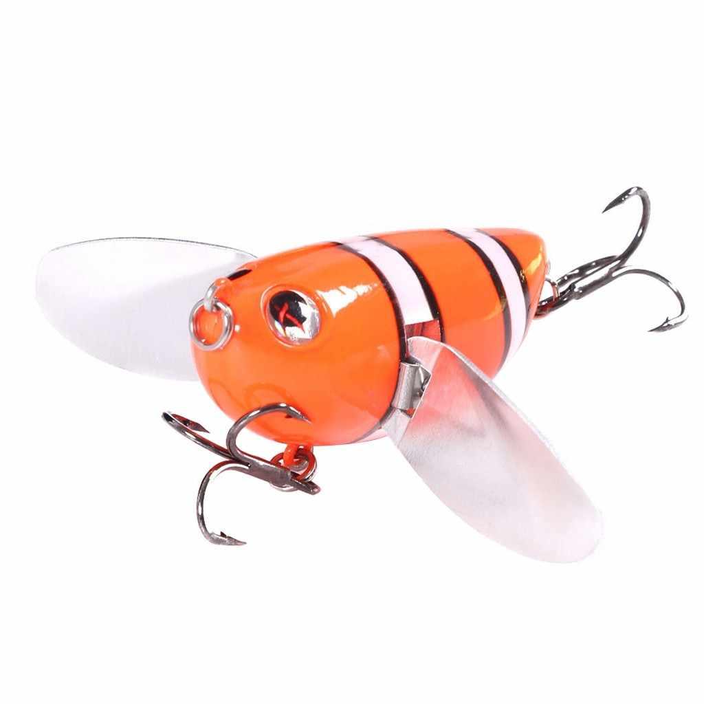 20 PC Pesca Verde Suave Plástico brillan en la oscuridad granos 7 X 10mm K6I9