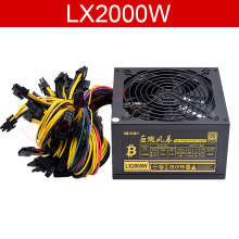 2000W PSU Power-Supply Computer Bitcoin-Miner Mining ZCASH PC ATX for 8/Video-card/Mining/..