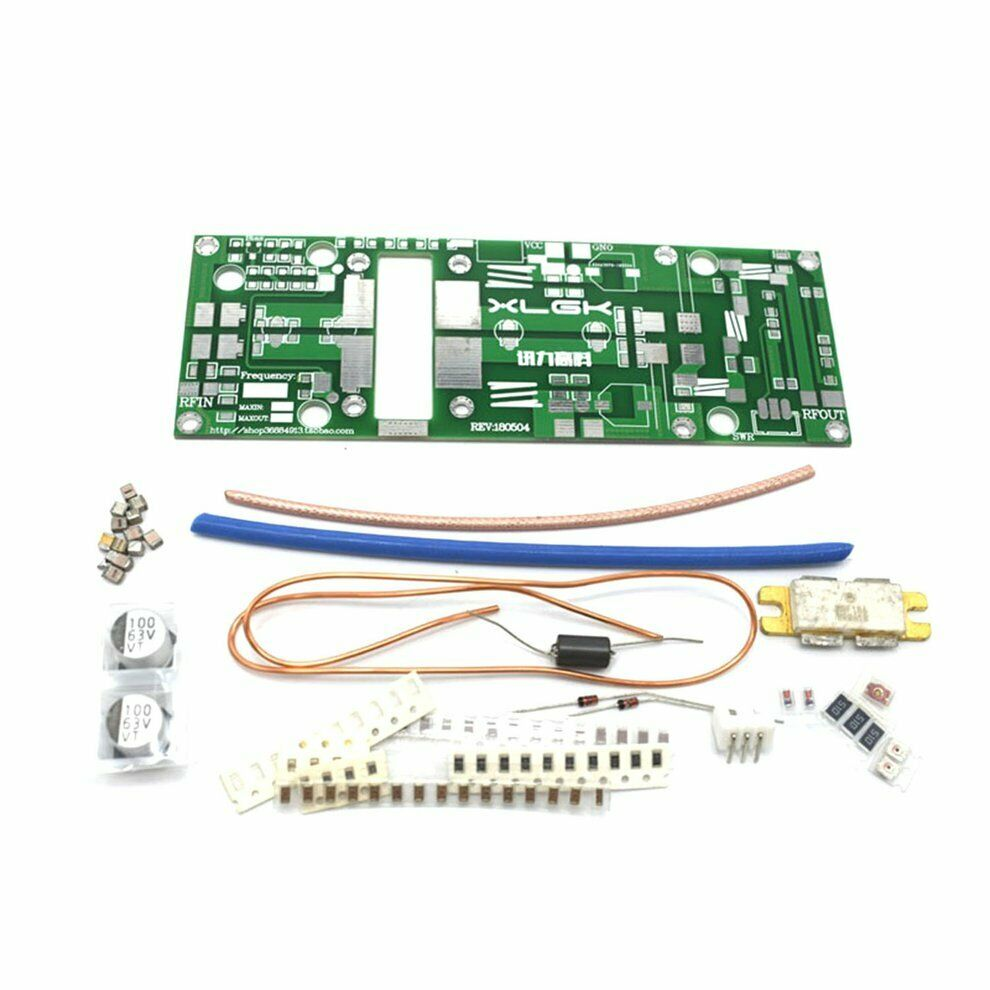 2019 Latest DIY Kits 100W UHF 400--470MHZ Amplifier Power Amplifier Board For Ham Radio 433MHz