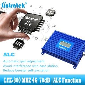 Image 4 - Lintratek LTE 800 mhz handy signal verstärker 4G 800 mhz cellular signal repeater booster band 20 4g internet netzwerk