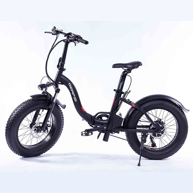 "Gps-02012ea 20"" New Much Popular Fat Tire Folding Bicycle Electric Folding Bike E-bike Fat Ebike 36 V electric bike cheap 3"