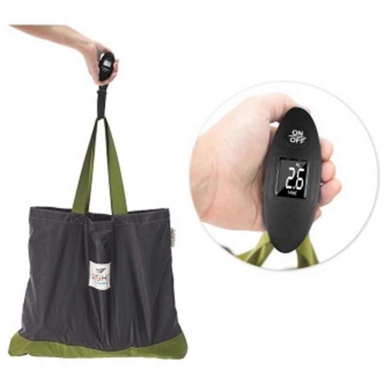 Urijk 40 كجم/100 جرام شاشة إل سي دي ميزان أمتعة إلكتروني صغير محمول ميزان السفر المحمولة وزنها الأمتعة حقيبة حقيبة مقياس