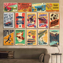 Vintage Retro 20*30cm American Style Car Wine Tin Sign Metal Poster Iron Sign Plate Wall Poster Bar Club Pub Home  Garage Decor vintage car tin signs bar pub home wall decor retro metal art poster metal plate plaques vintage retro bar sign garage rule sign