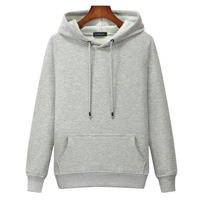 2019 Autumn And Winter Men Brushed And Thick Hoodie Warm Long Sleeve Pullover Hoodie Large Size Fat Teenager Coat