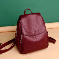 backpack women fashion 2020 genuine leather bag for women ZDG 328 women fashion big backpack
