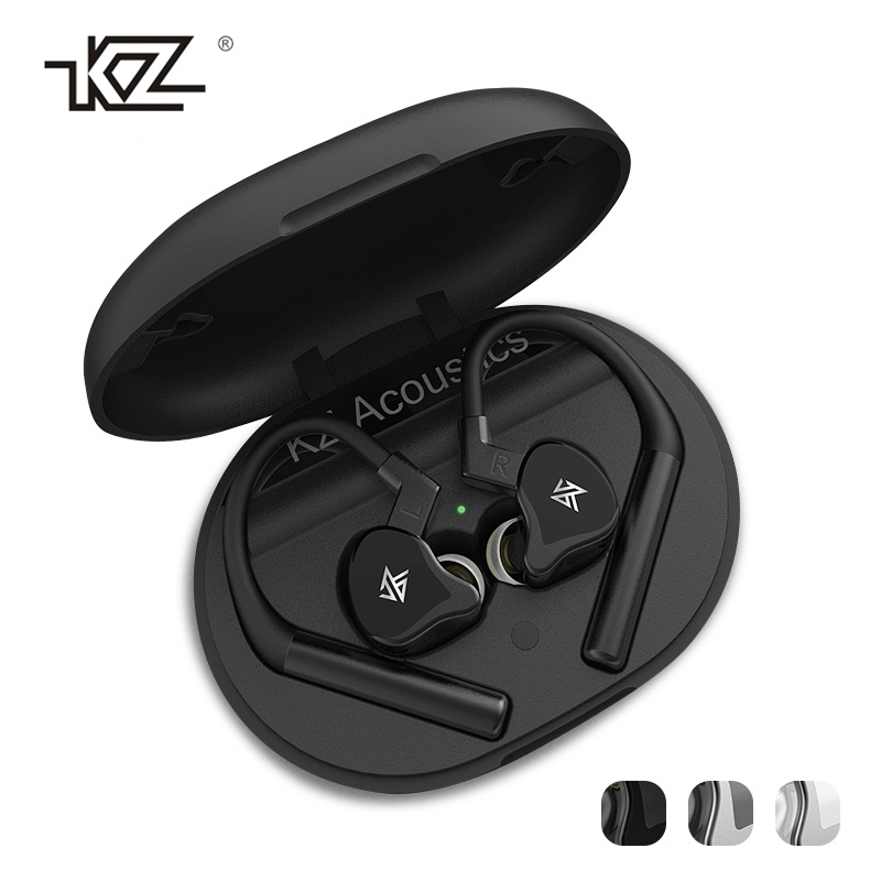 Original KZ E10 TWS Bluetooth 5.0 Earphone 10 Drivers 4 Balanced-Hybrid Armature 1 Dynamic Drivers HiFi Bass Headphone With Mic