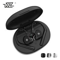 Original KZ E10 TWS bluetooth 5.0 Earphone 10 Drivers 4 Balanced Hybrid Armature 1 Dynamic Drivers HiFi Bass Headphone with Mic