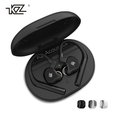 Original KZ E10 TWS bluetooth 5.0 Earphone 10 Drivers 4 Balanced-Hybrid Armature