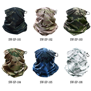 Multicam camouflage tactical neck
