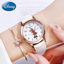 2020 Teen Girl Minnie Calendar Watch Cute Lady Kids Soft PU Strap Luminous Wrist Watches Child Student Clocks Casual Time Gift