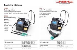 Image 4 - Phonefix original jbc CD 2SHE precisão estação de solda com T210 A alça para placa mãe reparação de solda ferramenta móvel