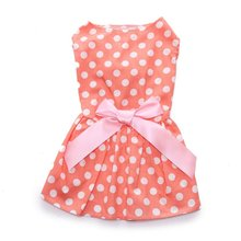 Pet Clothing Summer Clothes Dress Dog Spring Cute Sweet Puppy Skirt