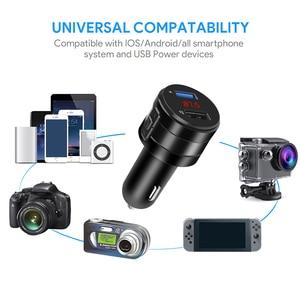 FM-трансмиттер с MP3-плеером и поддержкой U-диска, 3,1 А