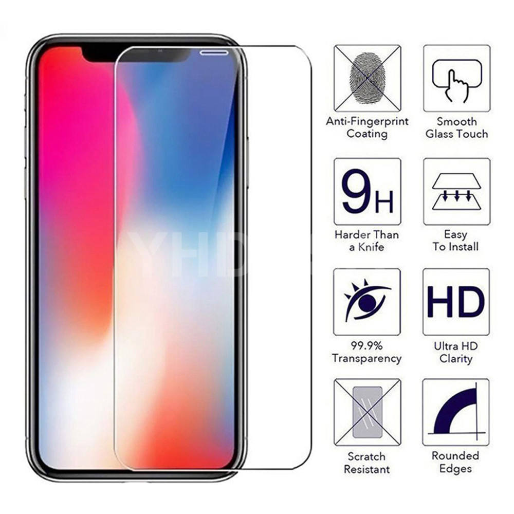 9H Protective Glass On IPhone 11 Pro X XS Max XR 5S SE Screen Protector Protection Tempered Glass For IPhone 8 7 6 6S Plus Glass