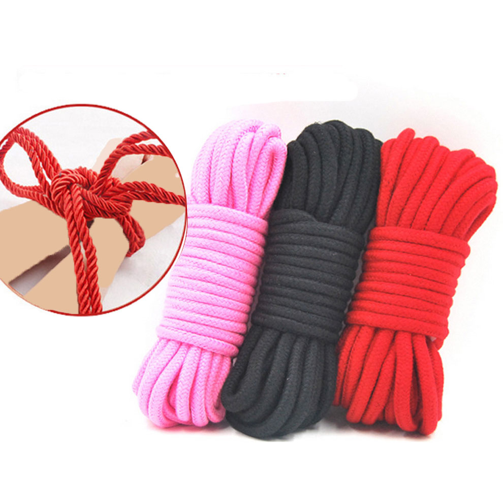 BDSM Bondage Boutique Soft Bondage Rope 5 Metre Sex Toys Supplies Cotton Tied Ropes Bondage Comfortable Kit Harness Sex Game