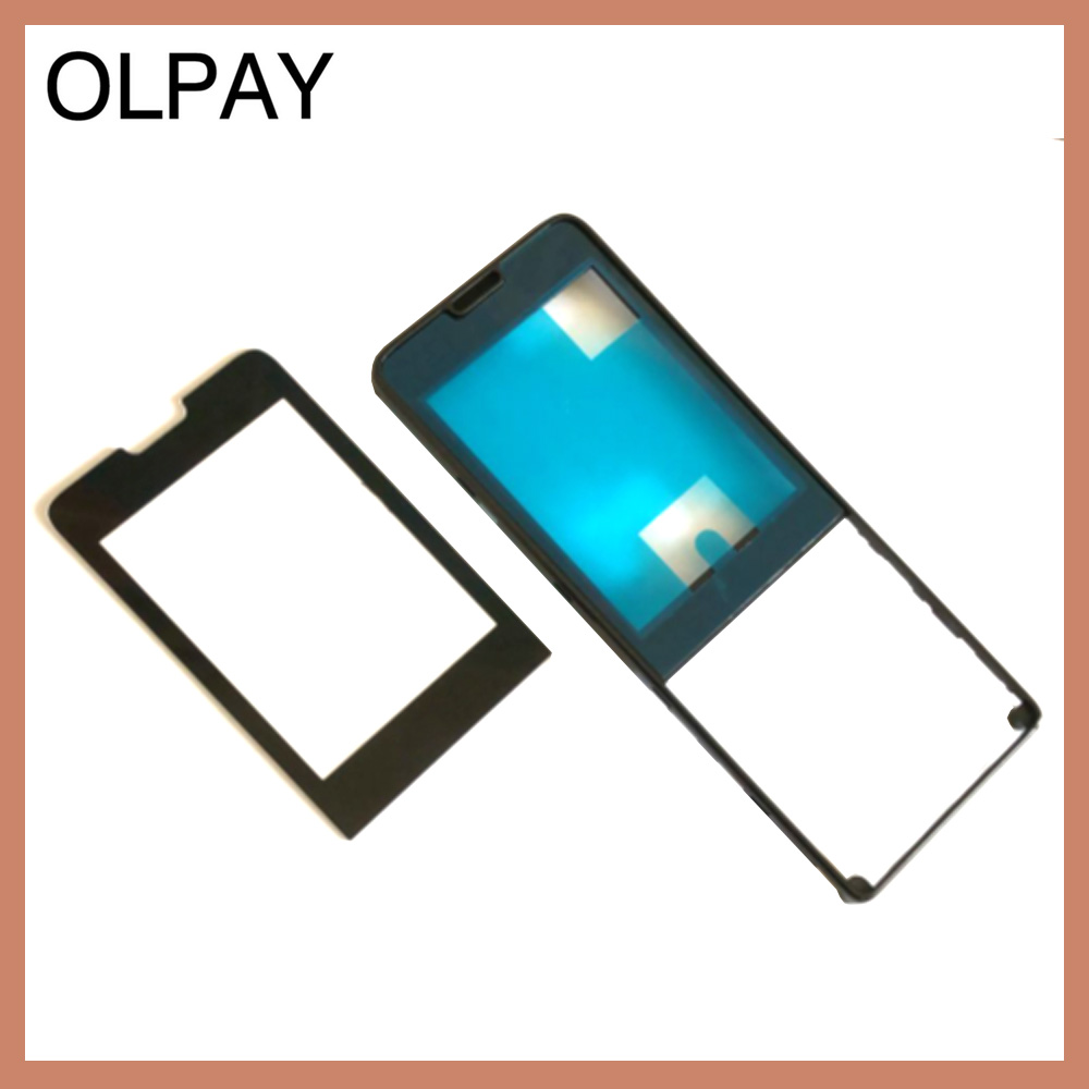 100% New Original Warranty Front housing frame with glass for Philips X1560 CTX1560 Mobile Xenium phone cellphone image