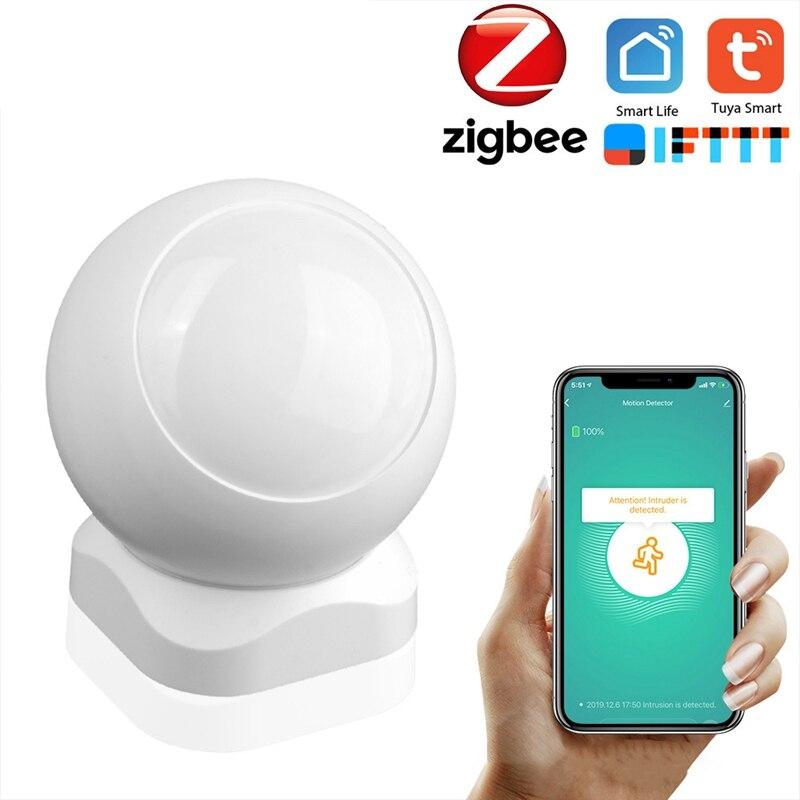 Tuya zigbee inteligente pir sensor de movimento