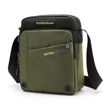 AOTIAN Small man Shoulder Bag Men's Messenger Bag