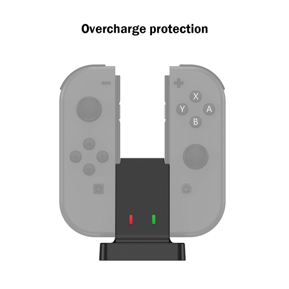 dock para nintendo switch joy-con controlador enw60s152