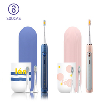 SOOCAS X5 Electric Toothbrush Rechargeable Smart Sonic Toothbrush Automatic Ultrasonic Tooth Brush Teeth Cleaning 12 modes IPX7