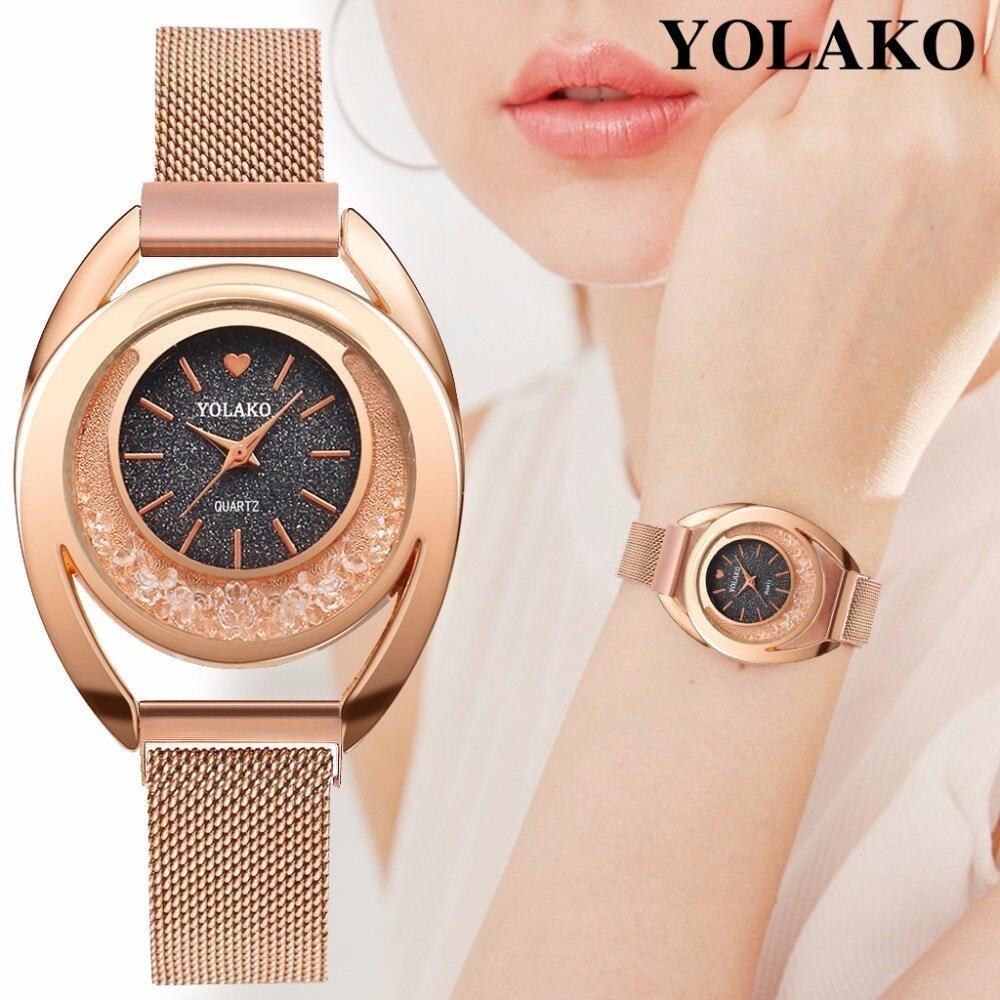 Роскошные женские часы женские магнитные звездное небо часы модные женские кварцевые наручные часы Relogio Feminino