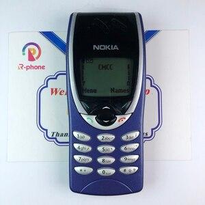 Image 1 - هاتف نوكيا 8210 غير مقفول GSM 900/1800 هاتف خلوي مجدد أصلي ولا يمكن أن يعمل في الولايات المتحدة الأمريكية