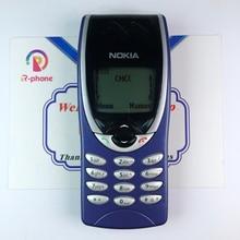 Разблокированный Мобильный телефон NOKIA 8210, GSM 900/1800, оригинальный Восстановленный сотовый телефон, не может работать в США