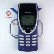Unlocked NOKIA 8210 Mobile Phone GSM 900/1800 Original Refurbished Cellphone & Cant work in USA