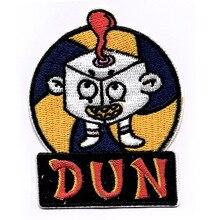 Мультфильм DUN вышитые патчи железа на значки на одежду