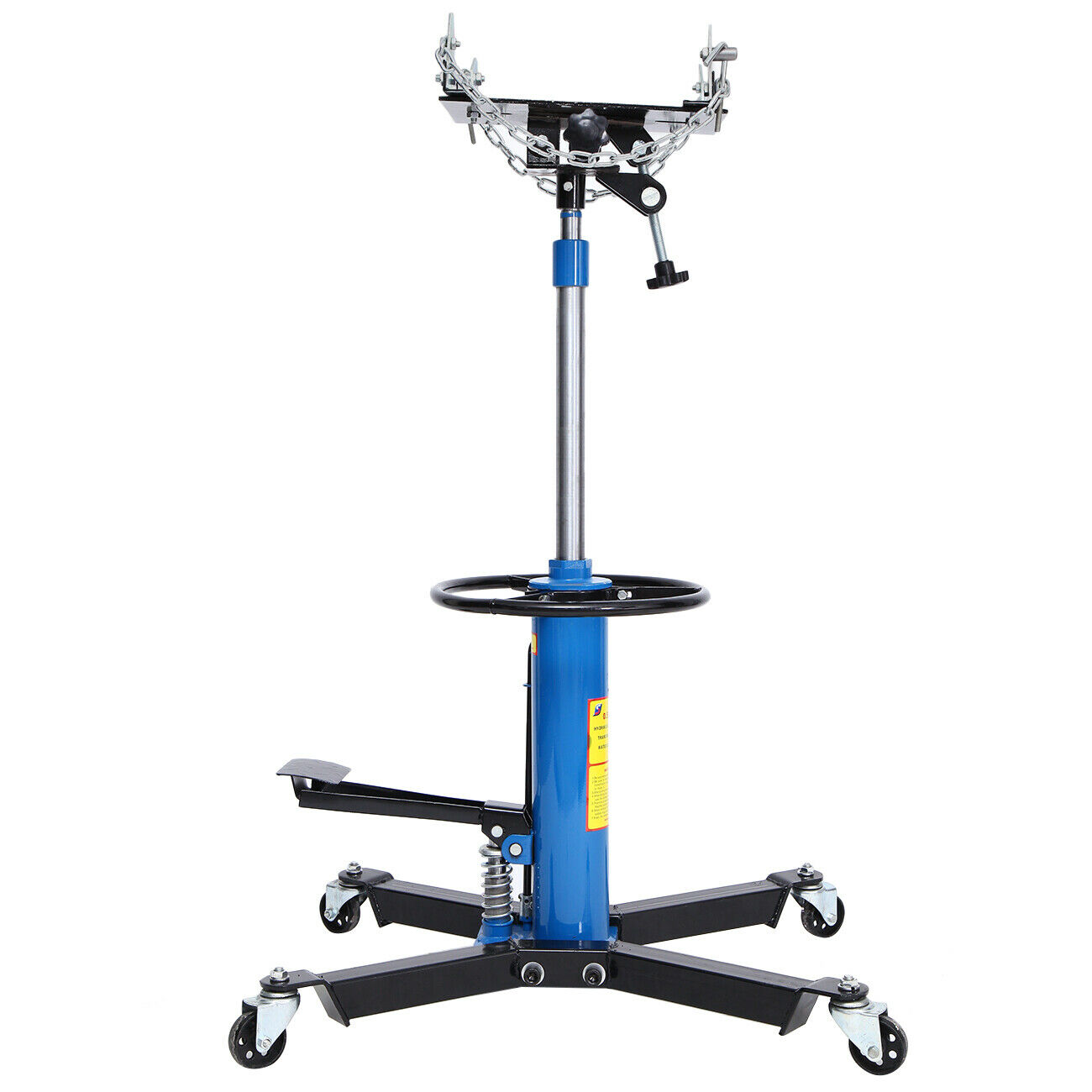 1100LBS 2Stage Car Hydraulic Jack Hydraulic High Lift Foot Pump Spring Loaded Transmission Jack For Car Truck Triler