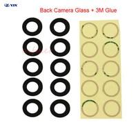 Aifixer Ori 10pcs Zurück Kamera Glas Objektiv für iPhone 8 8P X XS XR 11 11Pro Max Hinten cam Abdeckung + 3M Aufkleber Adhesive Ersatz P
